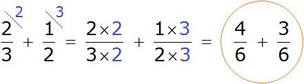 2 на 3 плюс 1 на 2 степ 1