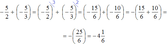 -5 на 2 на -5 на 3 шаг 4