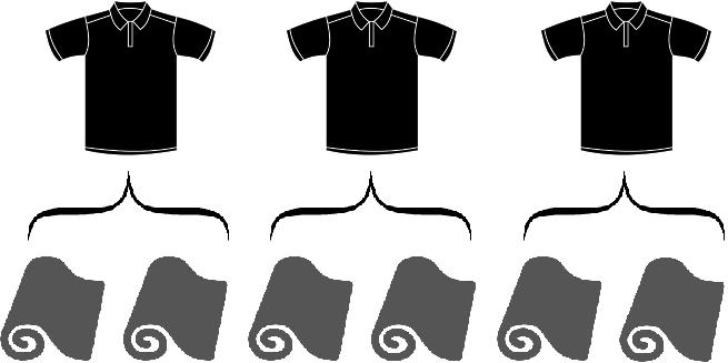 шесть рулонов три рубахи