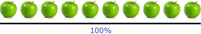 десять и восемь яблок рисунок 1