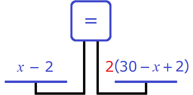весы количество тетрадей в первой и во второй пачке рис 2