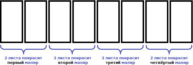 забор из восьми листов рисунок 4