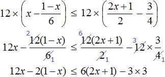 x minus 1-x na 6 m r 2x plus 1 na 2 step 2