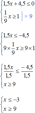 15x plus 45 m r 0 step 1