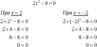 квадратное уравнение рисунок 4